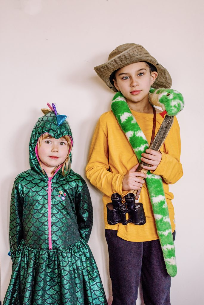 Dragon & Adventurer